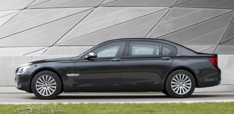 Special Chauffeur-driven BMW armoured