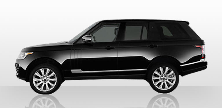 Special chauffeur-driven Range Rover Vogue